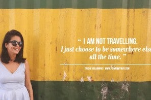 Trisha Velarmino: an Inspiring Solo Female Traveller {Interview}