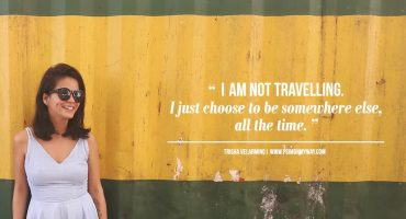 Trisha Velarmino: an Inspiring Solo Female Traveller {Interview}
