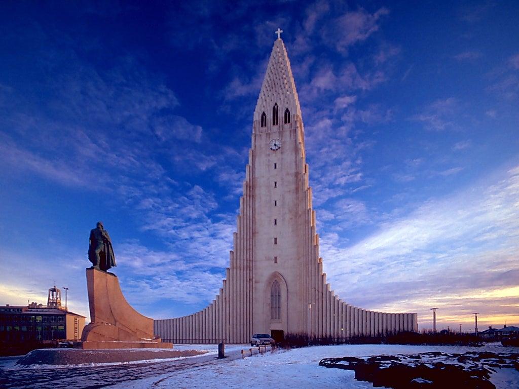 Hallgrímskirkja de islandia