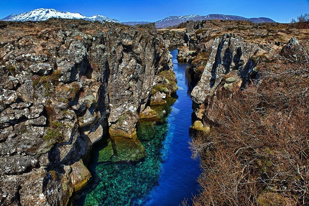 dorsal Mesoatlántica en islandia