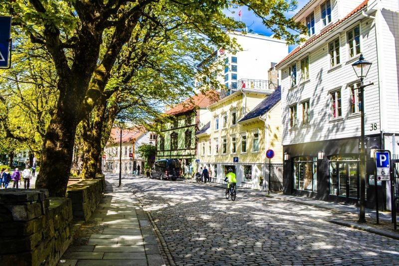 calle de stavanger en noruega