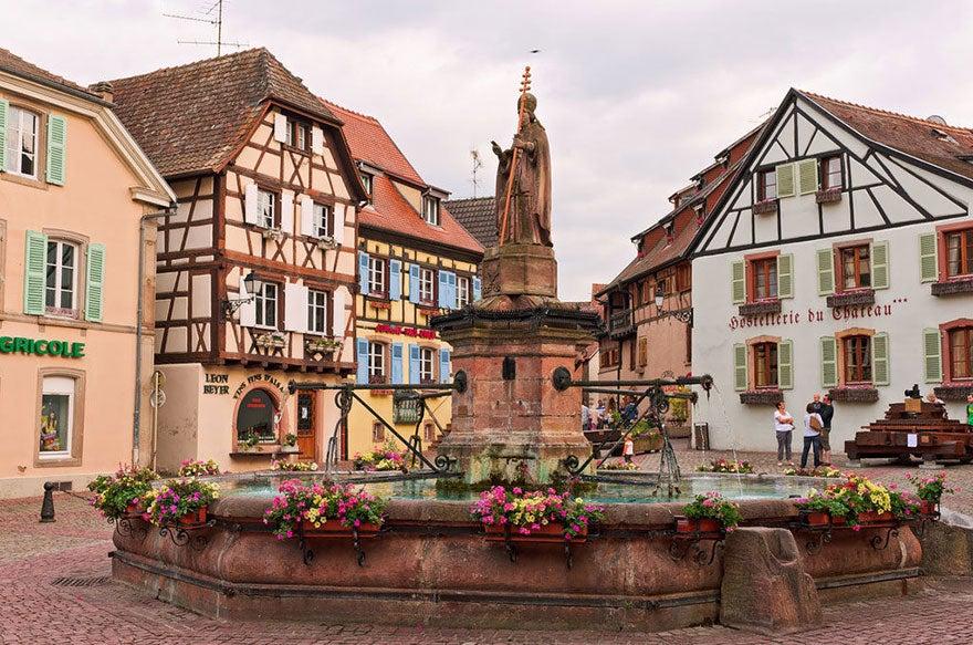 Alsacia en Francia