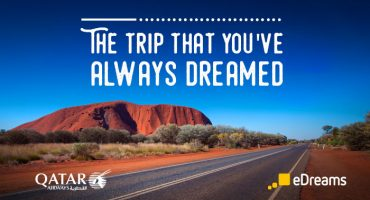 Win a flight for 2 to Australia