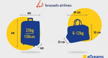 Brussels Airlines: Hand Luggage and Checked Baggage Allowance