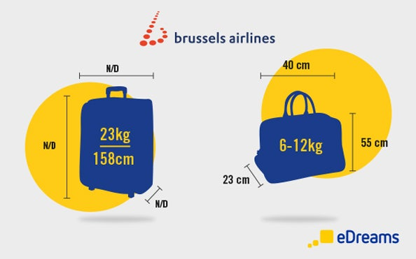 Brussels Airlines Hand Luggage And Checked Baggage Allowances