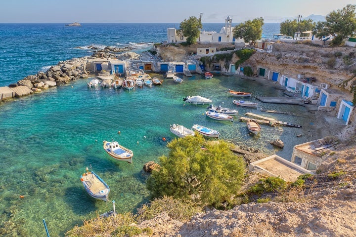 Milos Greek island