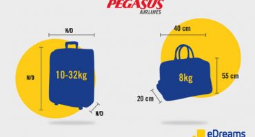 Pegasus Airlines Baggage Allowance 2020: Hand Luggage & Checked Bag