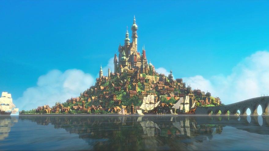 enredados castillo