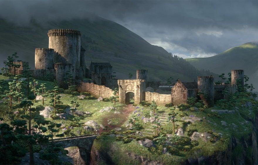 castillo de brave