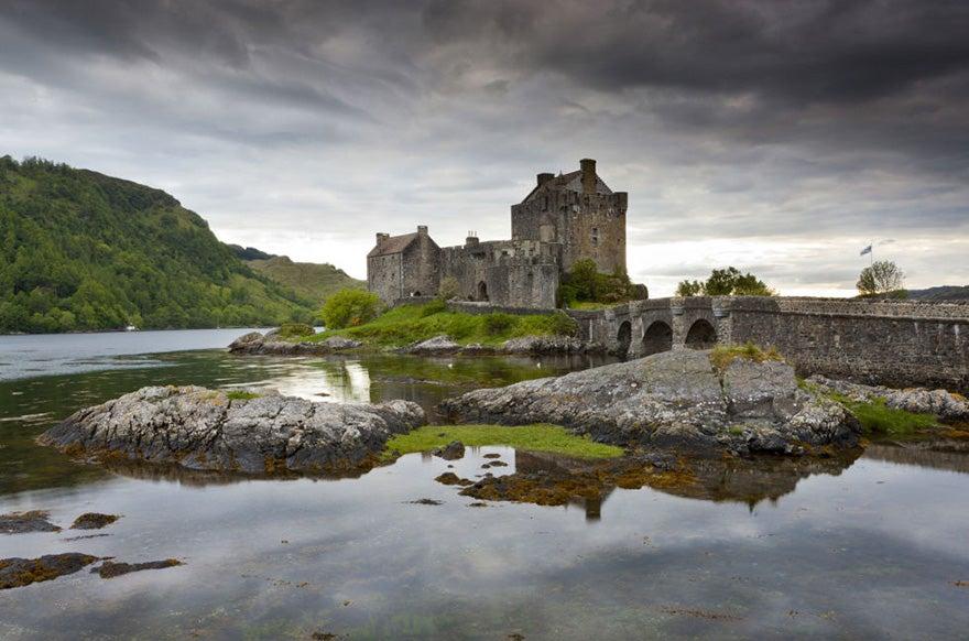 castillo de eilean donan en escocia