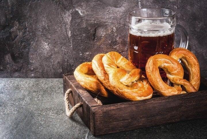 Bretzels in Germany