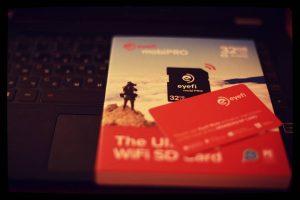 eyefi sd card and box