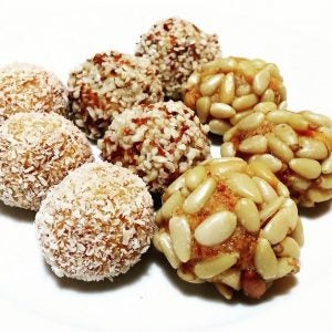 three kinds of panallet sweets