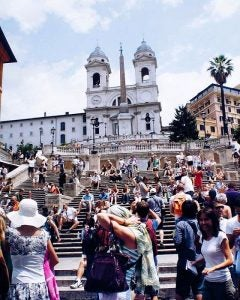 the spanish steps rome
