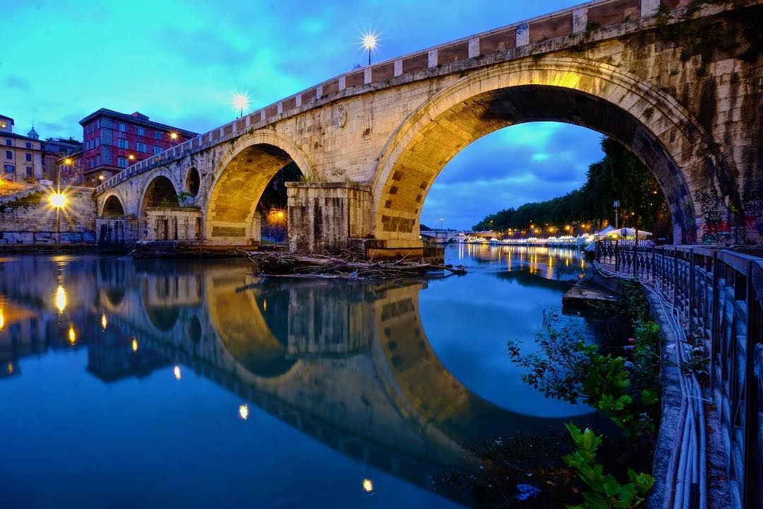 the tiber river rome