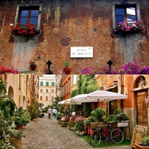 trastevere neighbourhood rome
