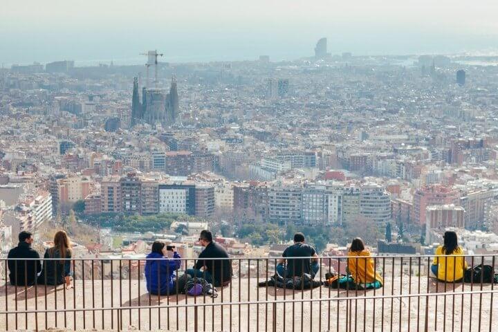 turo de la rovira in barcelona