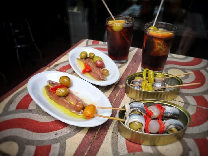 vermouth tapas in barcelona
