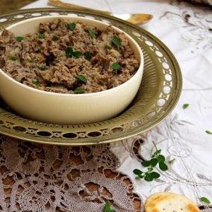 a bowl of bigilla olive spread malta