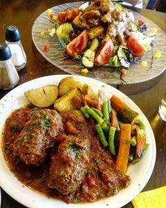 bragioli beef and olive stew malta