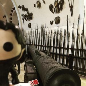 a bazooka at the national war museum malta