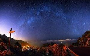 star gazing from mount teide tenerife