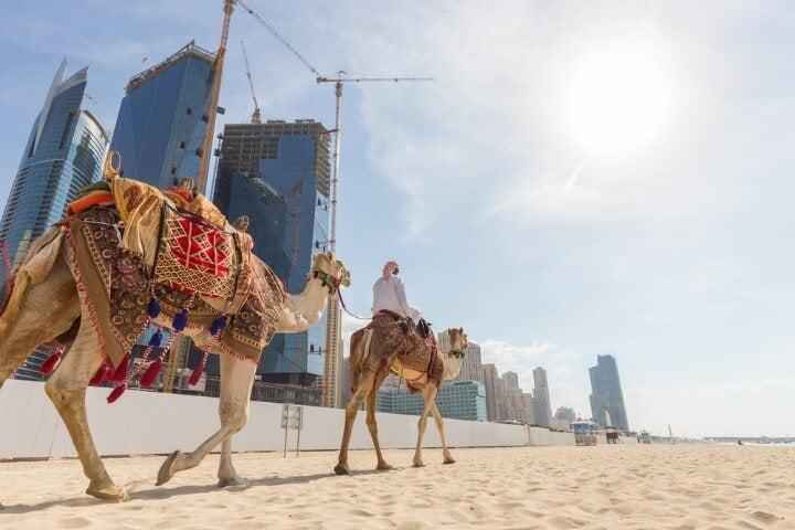 Culture mix in Dubai