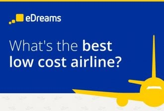 edreams best lowcost airlines infographic