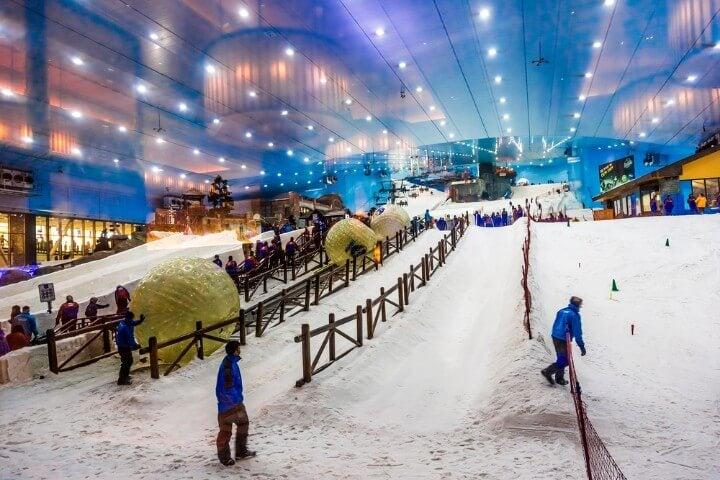 ski dubai - snow
