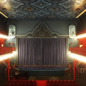a cinema room at cine dore madrid
