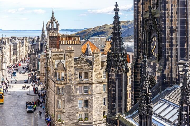 edinburgh - family travel