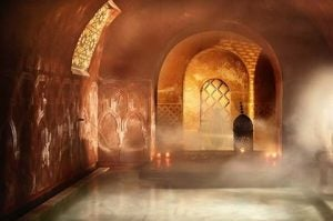 a steam bath at hammama al andalus madrid