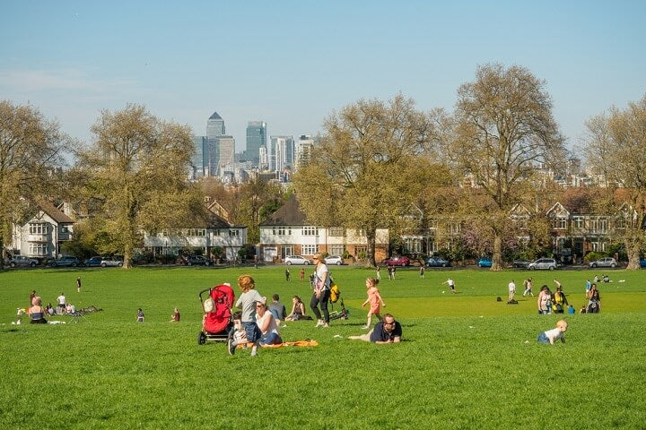 london - family travel