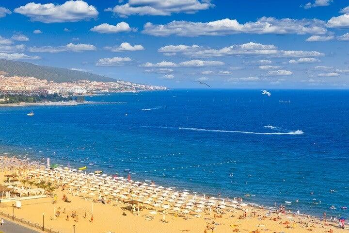 sunny beach - bulgaria - family travel