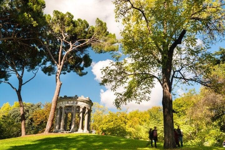 El Capricho Park in Madrid