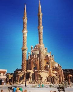 a brand new mosque in sharm el sheikh