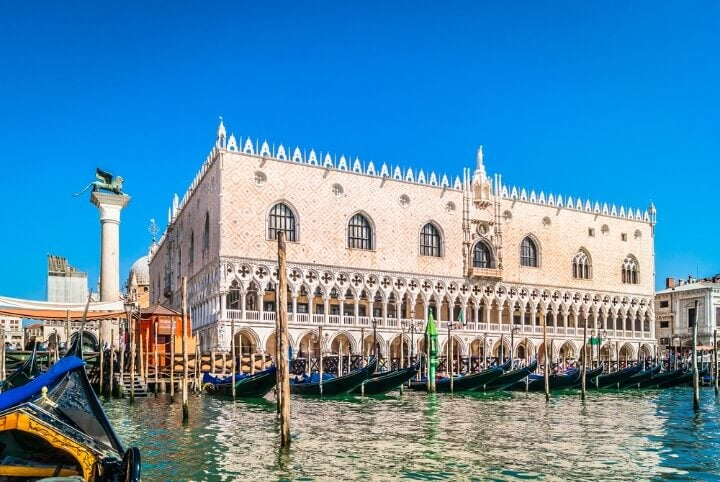 Doge's Palace in venice - italy