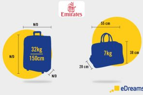 Emirates: Hand Luggage and Checked Baggage Allowance