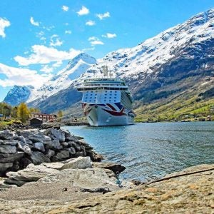 a cruise through the fjords of the lofoten islands norway