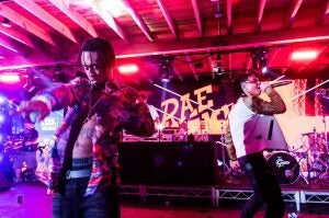 a hip hop group performs at sxsw in austin texas