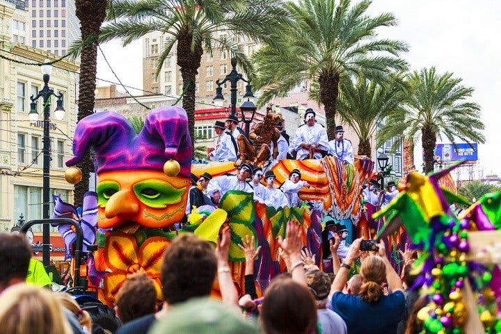 carnival in new orleans