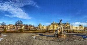 drottningham palace garden near stockholm