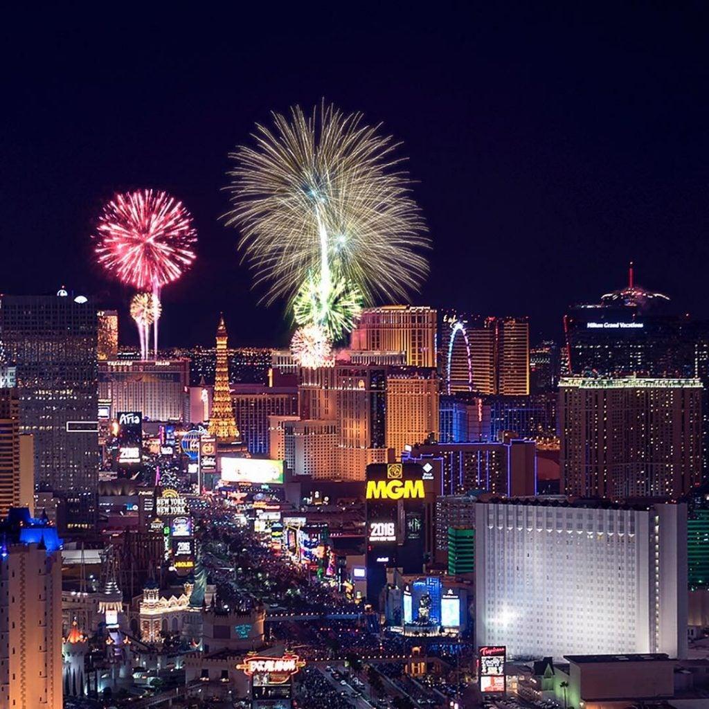 Dónde viajar en Marzo. Las Vegas