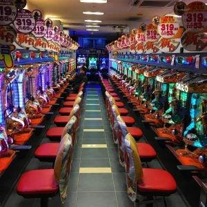 pachinko machines in tokyo