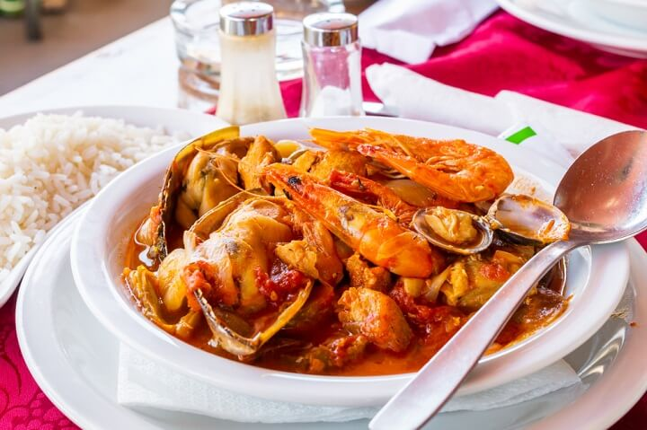 sea food algarve