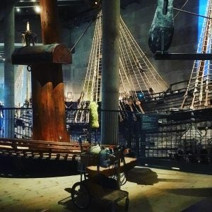 the vasa battle ship on display at the vasa museum stockholm