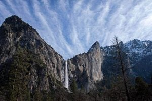 granite mountains at yosemite national park