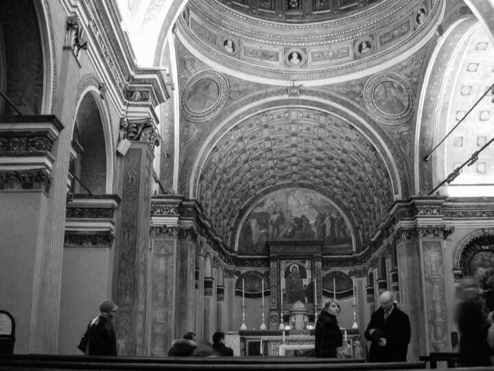 Church of San Satiro in milan - italy