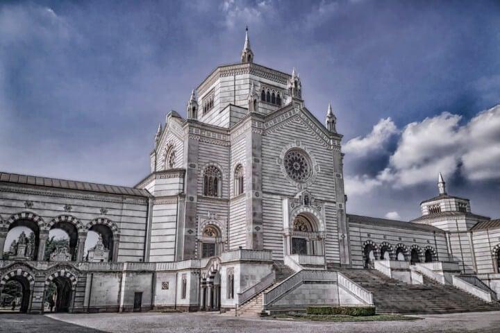 Monumental cemetery in Milan - Italy