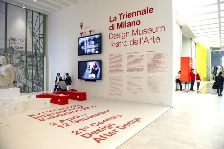 Triennale - Milan's contemporary art museum in italy